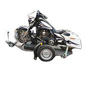 Remorque porte-moto