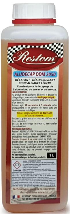 MOTO CLASSIQUE… DÉCAPANT– DÉSINCRUSTANT RESTOM ALUDECAP DDM 2050 POUR ALLIAGES