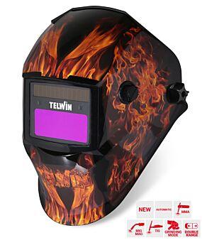 CASQUE À SOUDER  STREAM FLAME MMA/MIG-MAG/TIG TELWIN