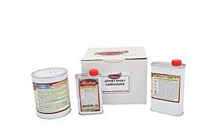 EPOXY GRONDLAAG 2 COMPONENTEN -  BEIGE/GROEN RAL1000 - 3KG (Epoxapprêt 9000)