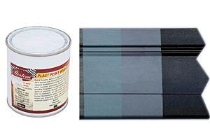 VERF VOOR KUNSTSTOF LEIGRIJS (RAL 7015) 500ML (Plast Peint 8000 A)