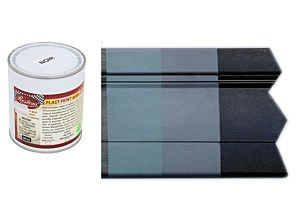 VERF VOOR KUNSTSTOF MATZWART 500ML (Plast Peint 8000 N)