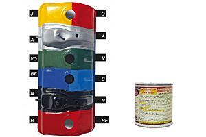 PEINTURE ANTICORROSSION POUR MOTEURS NOIR 500 ML (MotorPeint PMV 3030-N-500 ML)