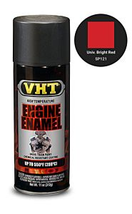 VHT ENGINE ENAMEL BRIGHT RED (SP121)