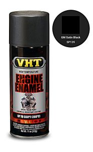 VHT ENGINE ENAMEL GM SATIN BLACK (SP139)