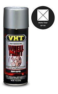 VHT WHEEL PAINT MATTE CLEAR (SP190)