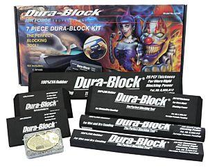 DURA-BLOCK - JEU DE 7 CALES À PONCER