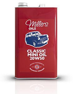 MILLERS OIL CLASSIC TRANSVERSE, CLASSIC MINI M20W50 - 1 LITER