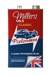 MILLERS OIL CLASSIC PISTONEEZE MOTORÖL 20W/50 - 5 LITER