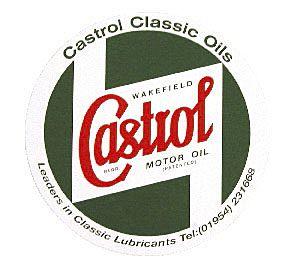 CASTROL BODYWORK STICKER 130 MM