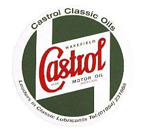 CASTROL BODYWORK STICKER 225 MM