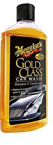 MEGUIAR'S - SHAMPOOING ET CONDITIONNEUR GOLD CLASS (G7116) 473 ML