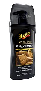 GOLD CLASS MEGUIAR'S RICH LEATHER CLEANER CONDITIONER LOTIONS (G17914)