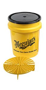 MEGUIAR'S GRIT GUARD WITH BUCKET & LID