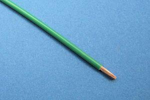 KFZ-SPEZIALDRAHT (FLRY/ FLY KABEL), 44/0.30, (3 mm²) (Ø3mm) GRÜN (METERPREIS)