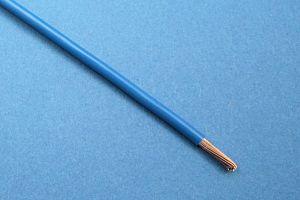 KFZ-SPEZIALDRAHT (FLRY/ FLY KABEL), 44/0.30, (3 mm²) (Ø3mm) BLAU (METERPREIS)