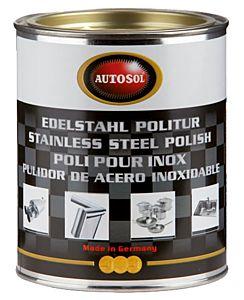 AUTOSOL - POLISH POUR ACIER INOXYDABLE POT 750 ML