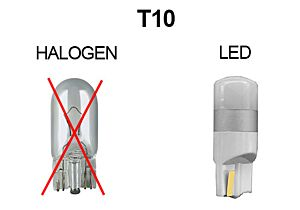 KNIPPERLICHT LED-LAMP 12V 210LM, T10, W5W