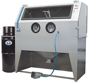 STRAALCABINE SKAT BLAST 970 INKL. STOFAFZUIGING VAC-50