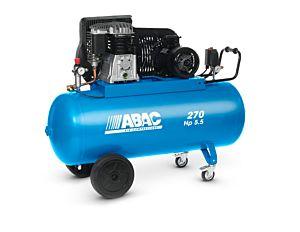 ABAC - COMPRESSEUR MOBILE 5,5 CV, CUVE 270 L, 400 V