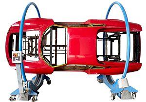 RÔTISSOIRE MOBILE PIVOTANTE 360° ÉLECTRO-MÉCANIQUE CAP. 3000 KG (230 V)