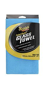 MEGUIAR'S Perfect clarity glass towel (X190301)