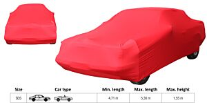 LUXE AUTOHOES SDS ROOD  (L=4.71 tot 5.3 meter/max. H= 1.55m)