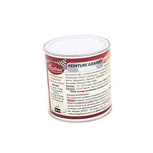 PEINTURE GRAINEE GROS GRAIN NOIR SAT/MAT 0,5L (Peint 9120-Noir Gros Grain-500ml)