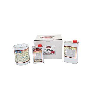 APPRET EPOXY 2 COMPOSANTS - GRIS ANTHRACITE RAL 7016 - 6KG (Epoxappret 9000)
