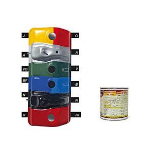 PEINTURE ANTICORROSSION POUR MOTEURS ROUGE 500 ML (MotorPeint PMV 3030-R-500 ML)