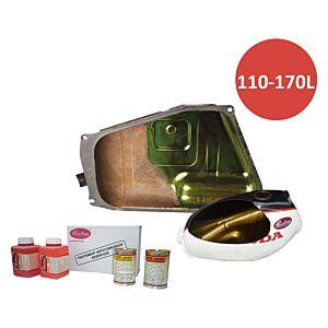 SUPERKIT VOOR GEROESTE & VETTIGE  BENZINETANK 110 TOT 170 L (Superkit 110/170)