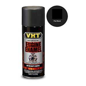 VHT ENGINE ENAMEL FLAT BLACK (SP130)