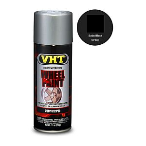 VHT WHEEL PAINT SATIN BLACK (SP183)