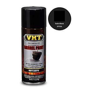 VHT BARREL PAINT SATIN BLACK (SP906)
