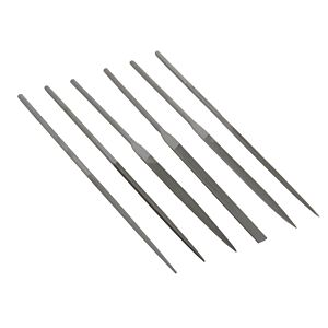NEEDLE FILES SET 140 MM (6 PIECES)