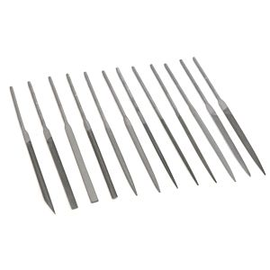 NEEDLE FILES SET 140 MM (12 PIECES)
