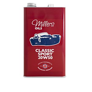 MILLERS OIL - HUILE CLASSIC SPORT 20W50 - 5 LITRES