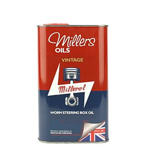 MILLERS OIL WORM STEERING BOX OIL - 1 LITRE