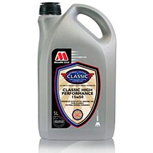 MILLERS OIL CLASSIC HIGH PERFORMANCE 15W50 - 5 LITER