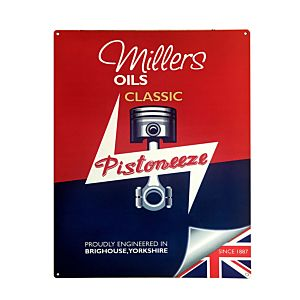 MILLERS OIL EMAIL BORD 30 X 40 - SMALL - PISTONEEZE