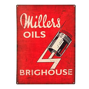 MILLERS OIL EMAIL BORD 50 X 70 - JUMBO - BRIGHOUSE