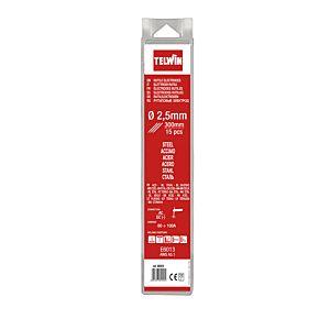 TELWIN RUTILE ELECTRODES D. 2,5 MM 15 PCS