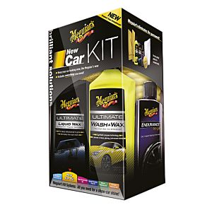 MEGUIAR'S  BRILLIANT SOLUTIONS NEW CAR KIT (G3200)