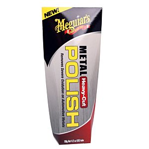 MEGUIAR'S HEAVY-CUT METAL POLISH (G15104)