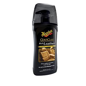 MEGUIAR'S RICH LEATHER CLEANER CONDITIONER LOTIONS (G17914)