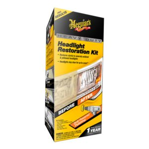 MEGUIAR'S HEAVY DUTY HEADLIGHT RESTORATION KIT (G2980)