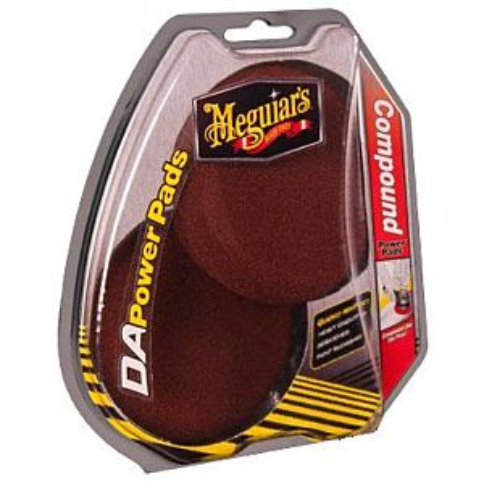 MEGUIAR'S DA COMPOUND POWER PADS (G3507)