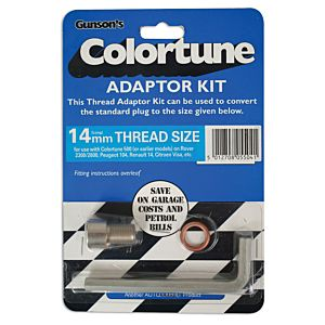 GUNSON COLORTUNE CONISCHE DRAAD-ADAPTOR VOOR KIT 14MM (G4055C)