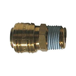 COUPLER WITH THREAD MALE 1/2''