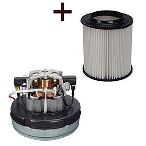 MOTOR VOOR VAC-40-45-50 220V 50HZ + 6011-HI HEPA FILTER